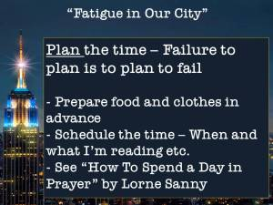 app2Fatigue in our city