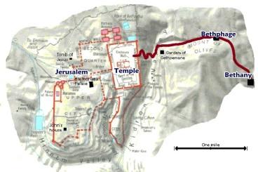 Bethany-Bethphage-jersualem