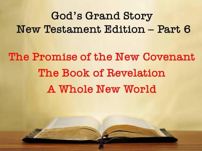 God's Grand Story - pt 6cover