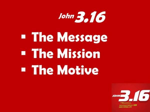 John3.16