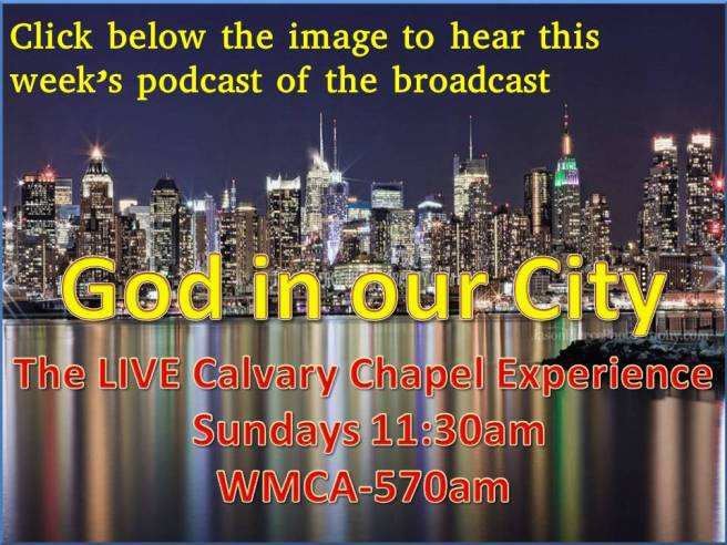 God in our city podcast