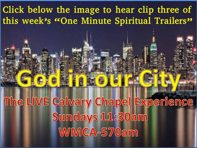 God in our city spiritual trailors3