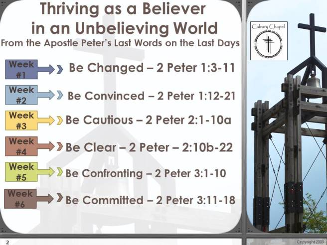 2peter sermon series outline update