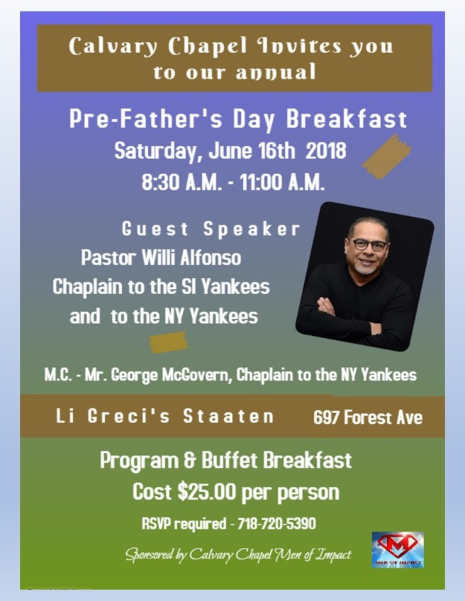 pre father's day flyer Large