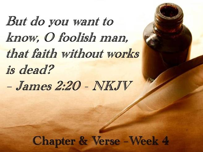 C&V slide presentation week 4 memory verse