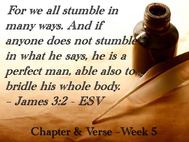 C&V slide presentation week 5 memory verse