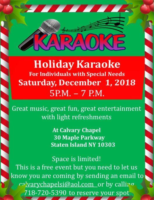 karaoke xmas