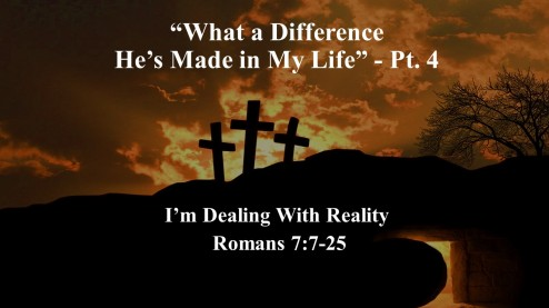 What a Difference He's Made in My Life - part 4 ed