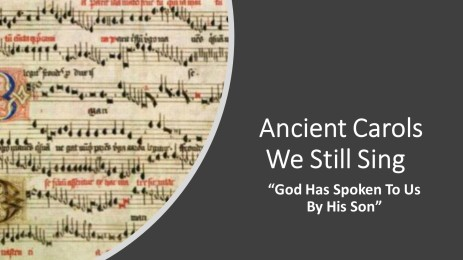 ancient carols - pt 1ed