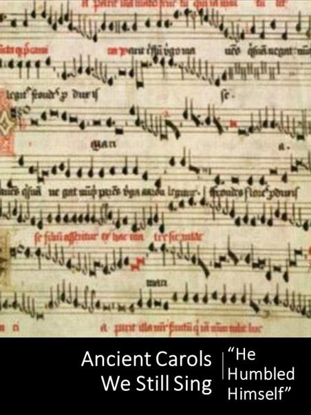 ancient carols - pt 2cover