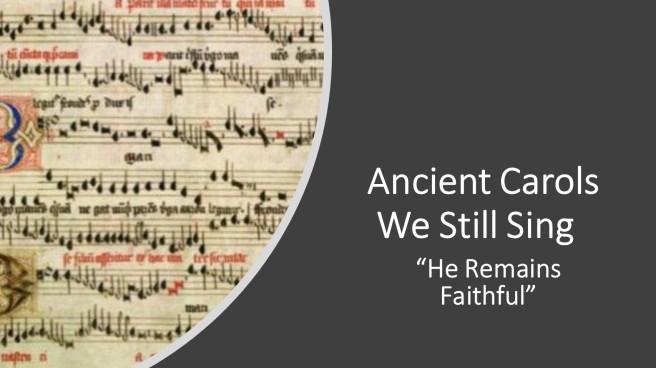 ancient carols - pt 5