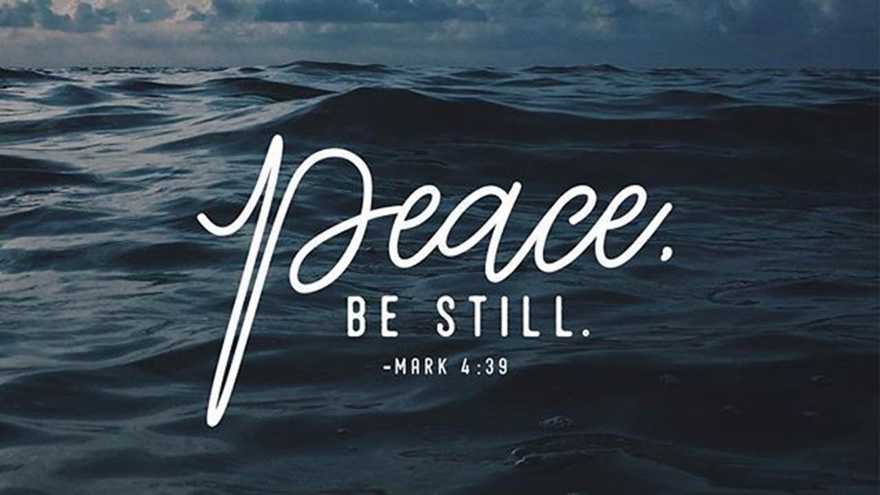 peace be still sermon cover