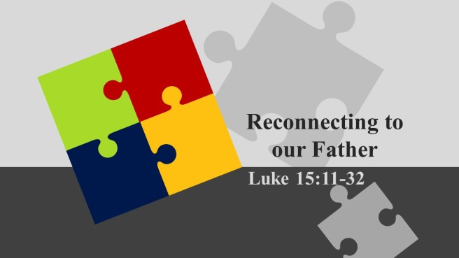 25 days of reconnecting sermon - part 2ed